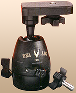 UNI-LOC 30 ball head, with platform